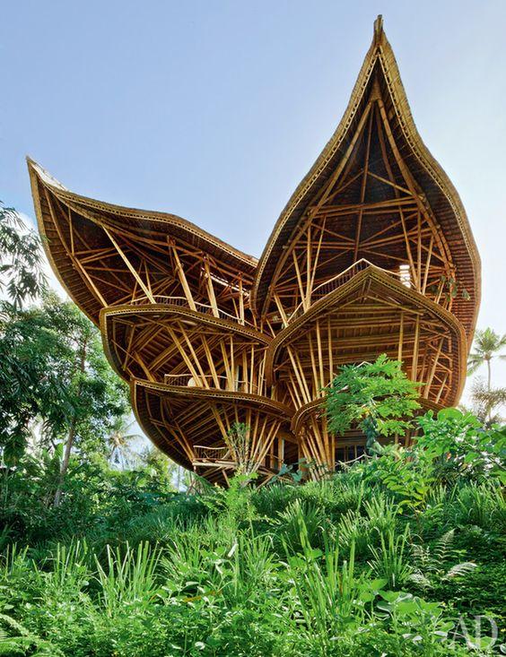 Вилла из бамбука