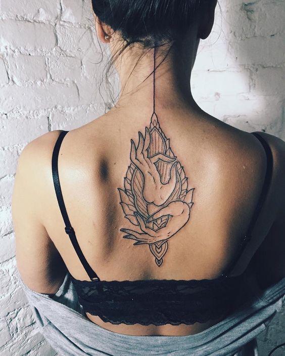 Тату на спине: 283 фото татуировки, эскизы