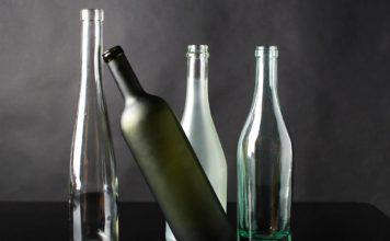 Декор стеклянной бутылки своими руками мастер класс на фото