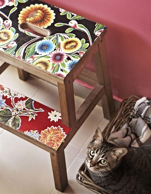 Декупаж мебели салфетками своими руками – способы, мастер-классы