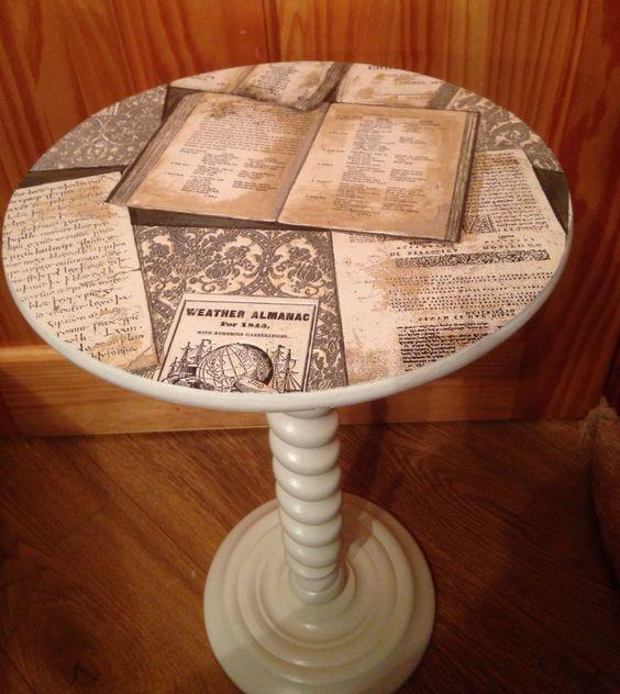 12-13 Декупаж мебели салфетками своими руками – способы, мастер-классы