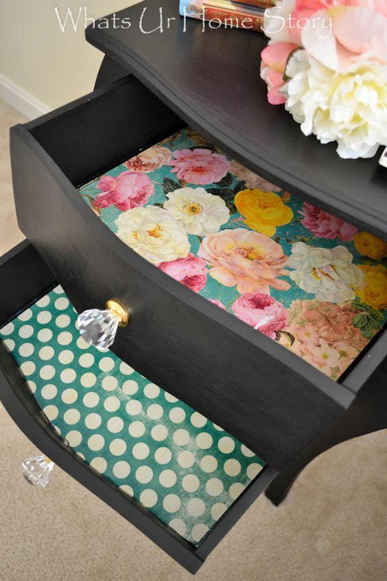 125-2 Декупаж мебели салфетками своими руками – способы, мастер-классы