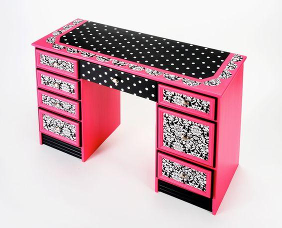134-2 Декупаж мебели салфетками своими руками – способы, мастер-классы