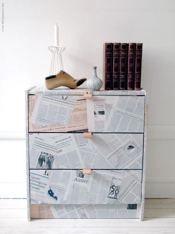 21-13 Декупаж мебели салфетками своими руками – способы, мастер-классы