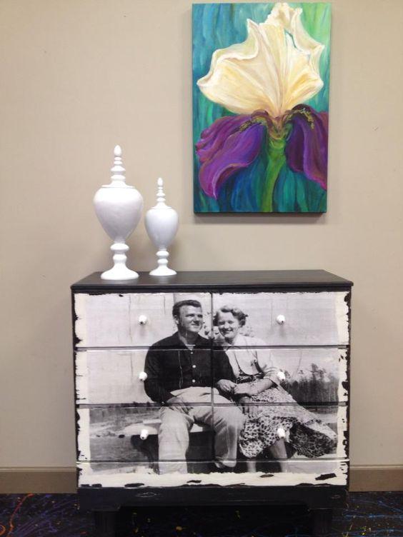 30-10 Декупаж мебели салфетками своими руками – способы, мастер-классы