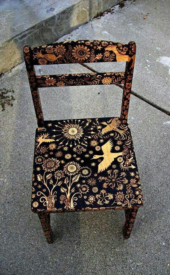 32-12 Декупаж мебели салфетками своими руками – способы, мастер-классы