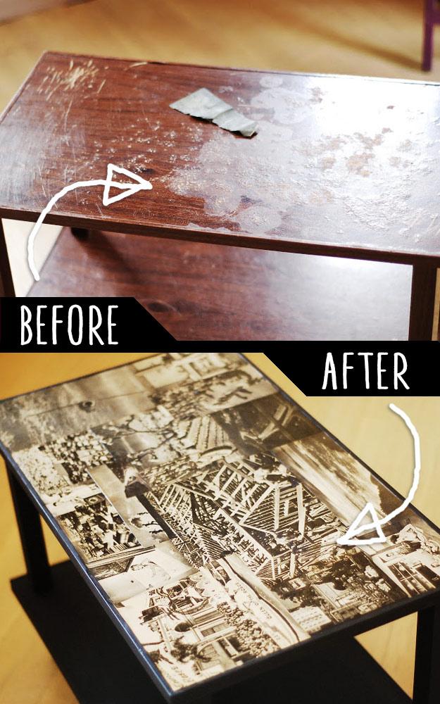 4-17 Декупаж мебели салфетками своими руками – способы, мастер-классы