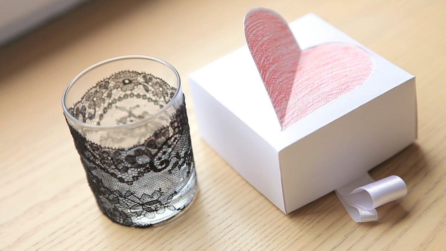 Подарки для день валентина своими руками