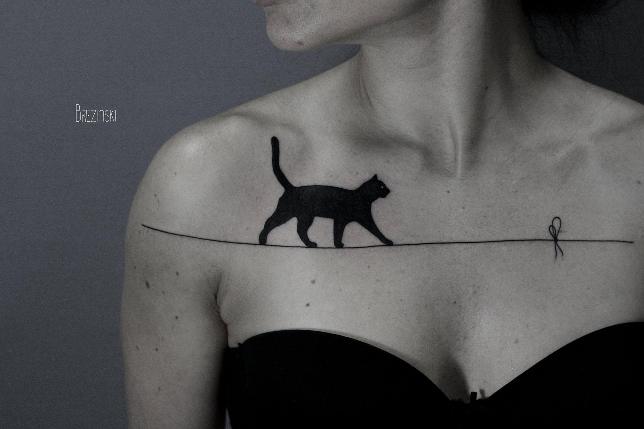 Tendenza тату кошка значение на зоне