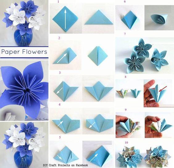 Как сделать эфирный цветок 486