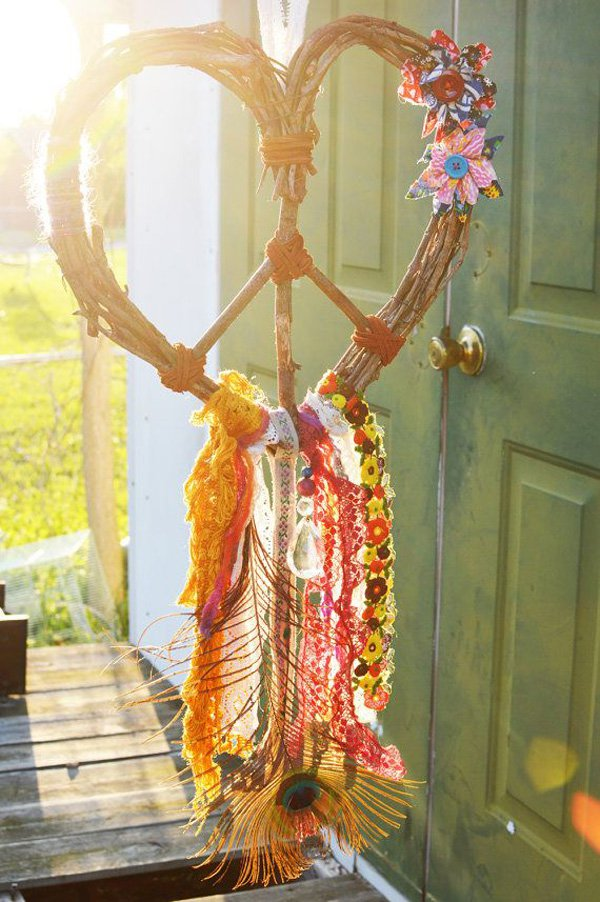 gypsy-dream-love-heart-wreath-peace-dream-catcher