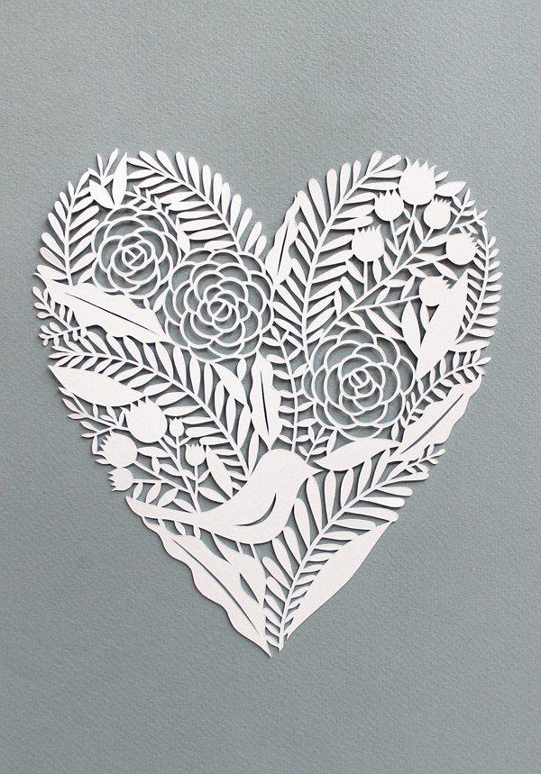 heart-paper-cut