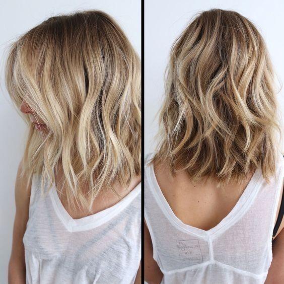 Модное окрашивание волос фото 2017