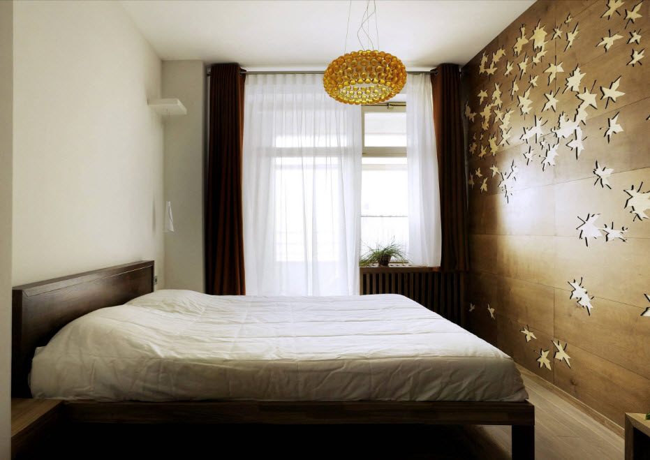 Модный дизайн спальни 2017