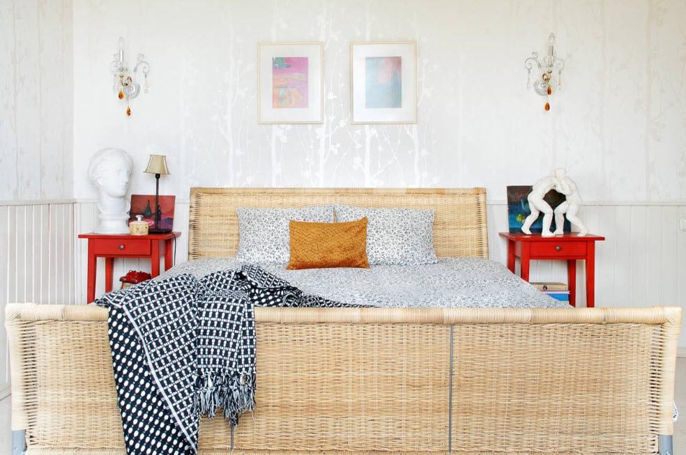 дизайн обоев для спальни 100 идей интерьера 2018 2019 на фото