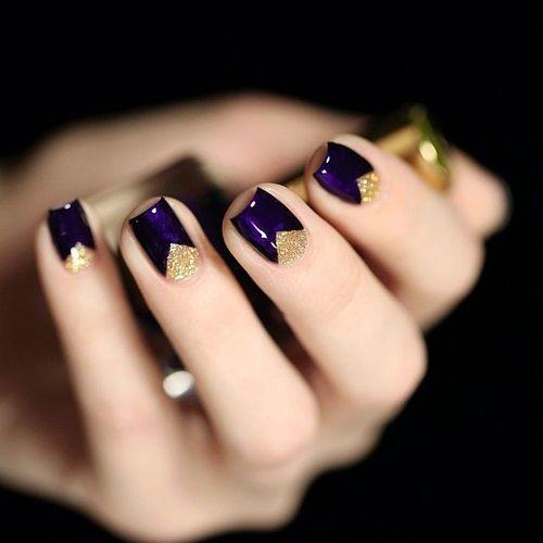 Готический дизайн ногтей в 108