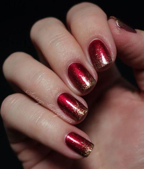 Готический дизайн ногтей в 180