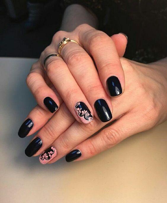 Дизайн ногтей шеллаком (фото) - фото и описание примера 15