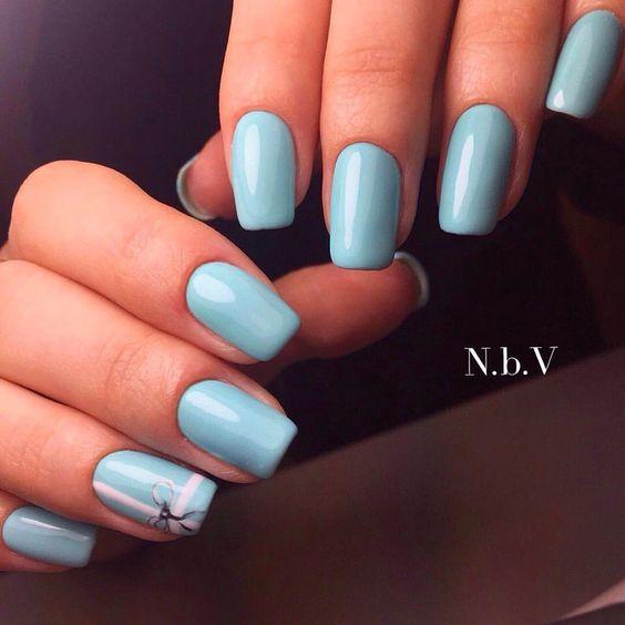 Яркий шеллак - фото идей дизайна ногтей - Best Маникюр 54