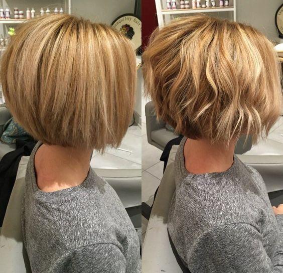 Стрижки на средние волнистые волосы боб каре 126