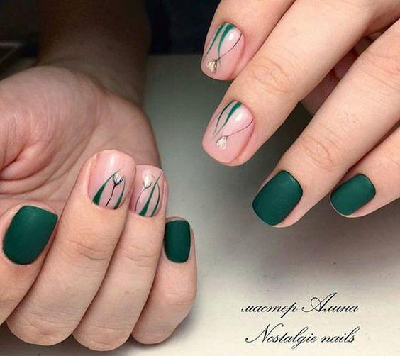 Популярные варианты летнего дизайна ногтей