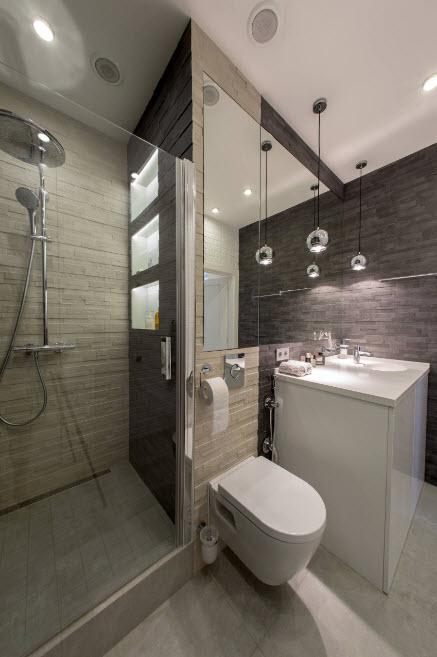 Компактная ванные комнаты мастера ремонт ванной комнаты