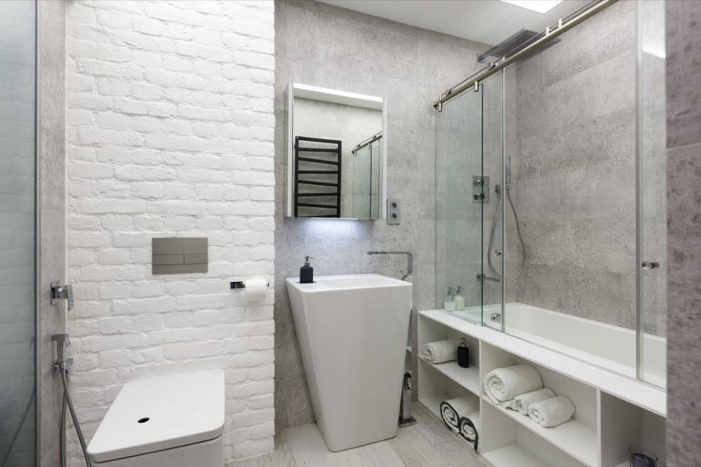 Моя белая ванная комната ванная комната нижнекамске