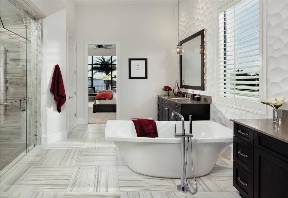 Плитка для ванной комнаты: лучшие 99