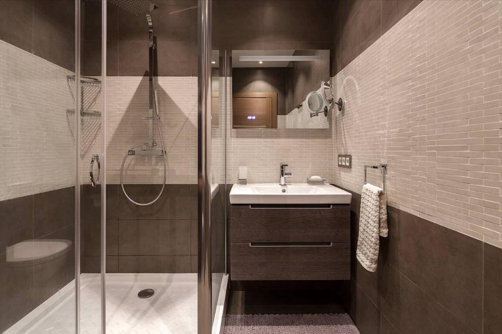 Фото ремонта для маленькой ванной