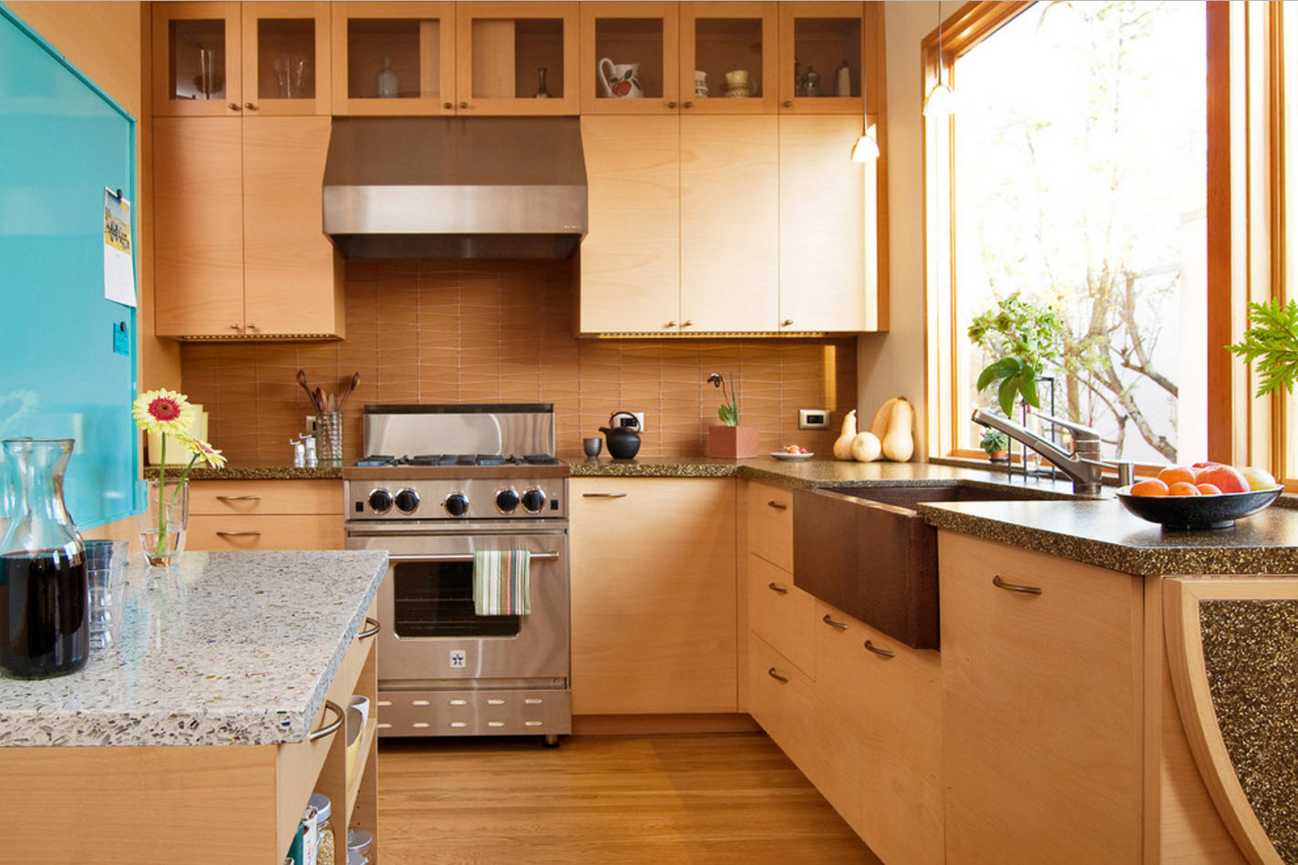 Уютная кухня своими руками в частном доме 71