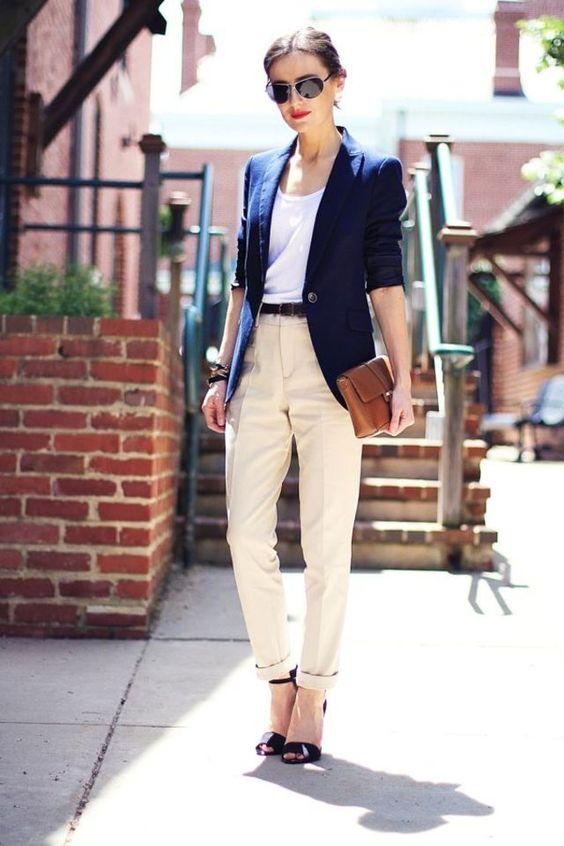 что одеть с белыми брюками женщине фото в 30 лет