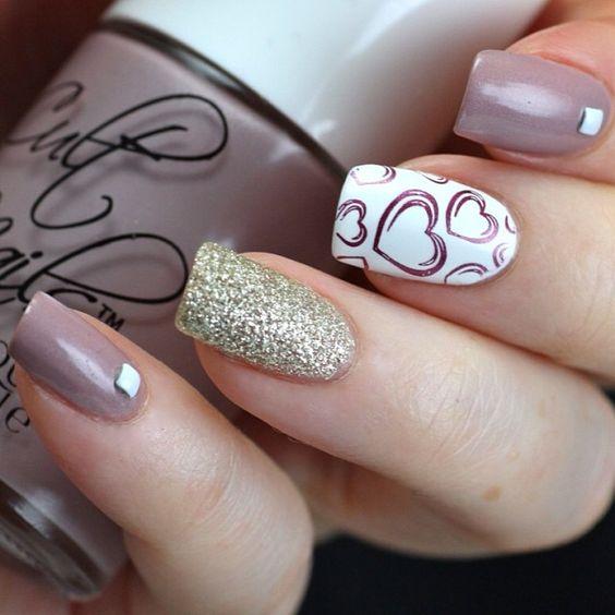 Светлые ногти дизайн фото 2017