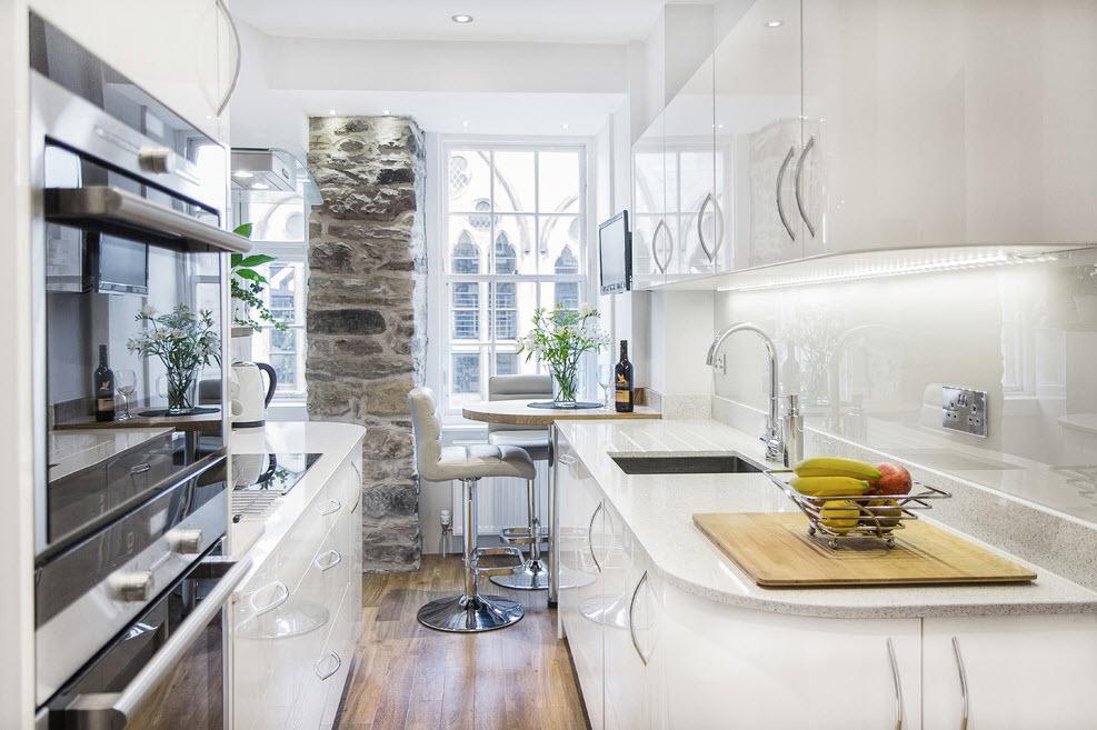 100 лучших идей дизайна маленькая кухня 2017 на фото