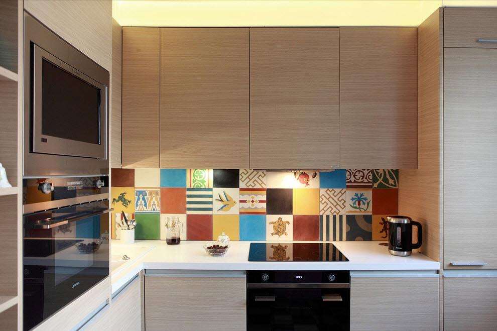 Напольная плитка на кухню 2017 дизайн проект