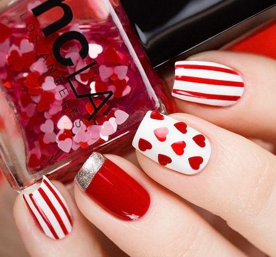 Красный маникюр - 180 шикарных идей для ярких девушек