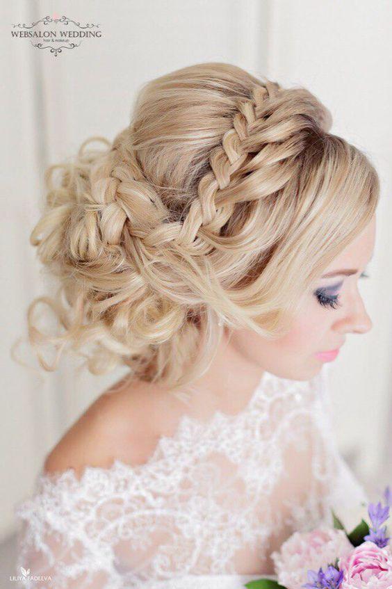 Свадебные прически для гостей 100 красивых и стильных фото