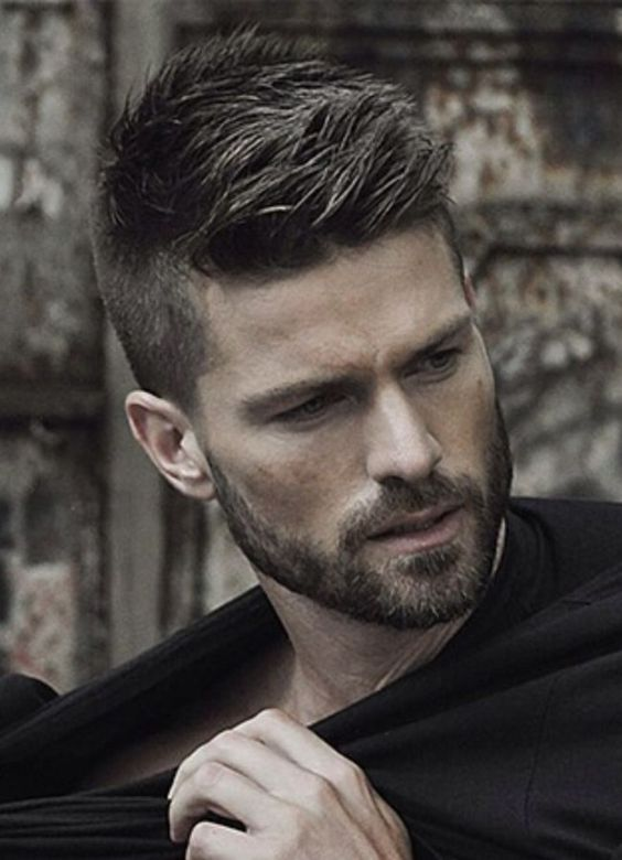 Мужские причёски и стрижки