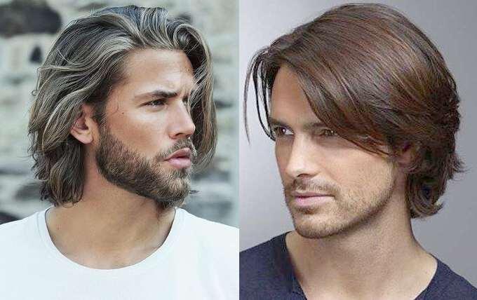 Средней длины причёски для мужчин