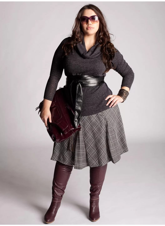 Праздничная одежда для полных женщин с доставкой от Almond