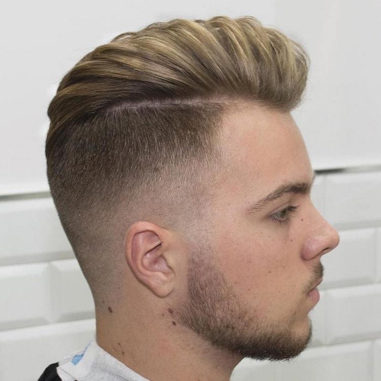Мужские причёски затылок