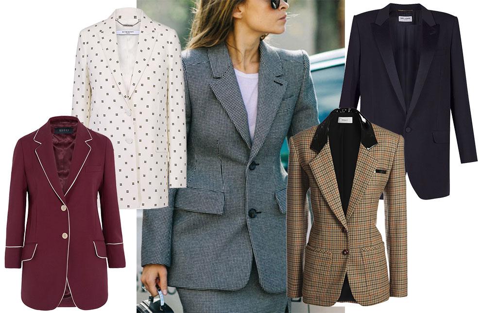 модный женский пиджак 2017