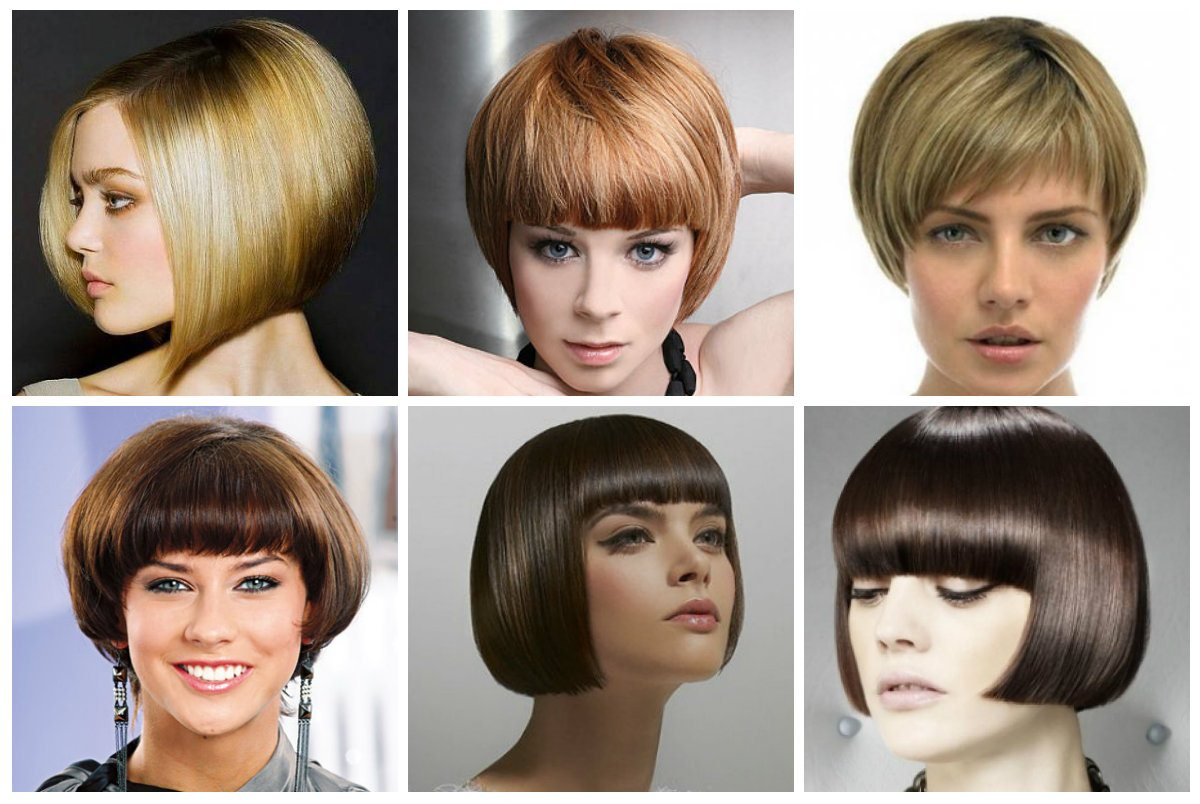Короткая стрижка на густые волосы не требующая укладки