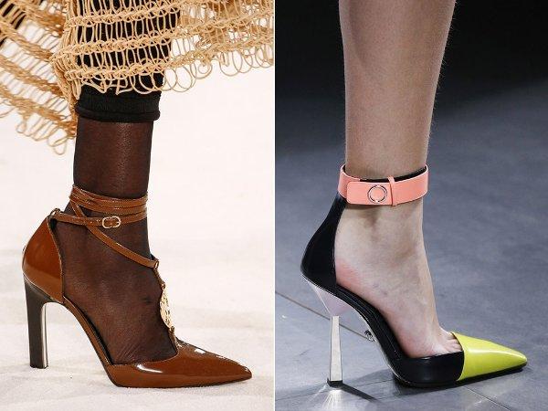 Модный женский каблук 2017