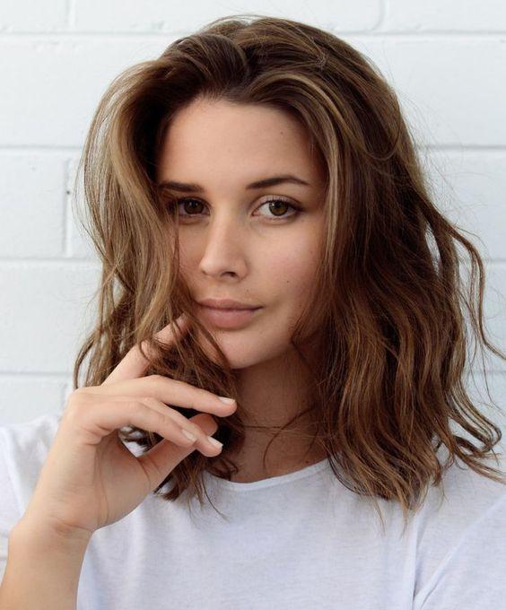 Стрижки на средние волосы картинки
