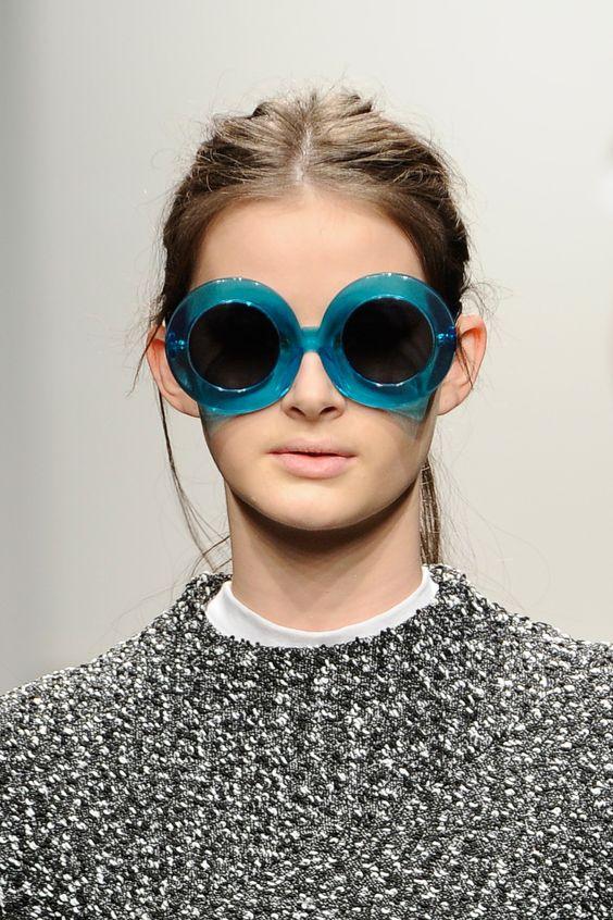 Круглые очки оверсайз