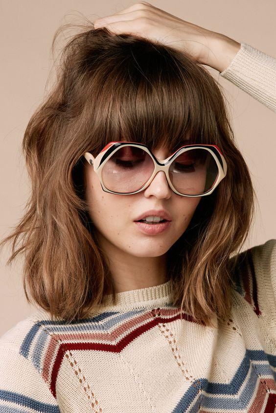 Трендовые очки в пластмассовой оправе