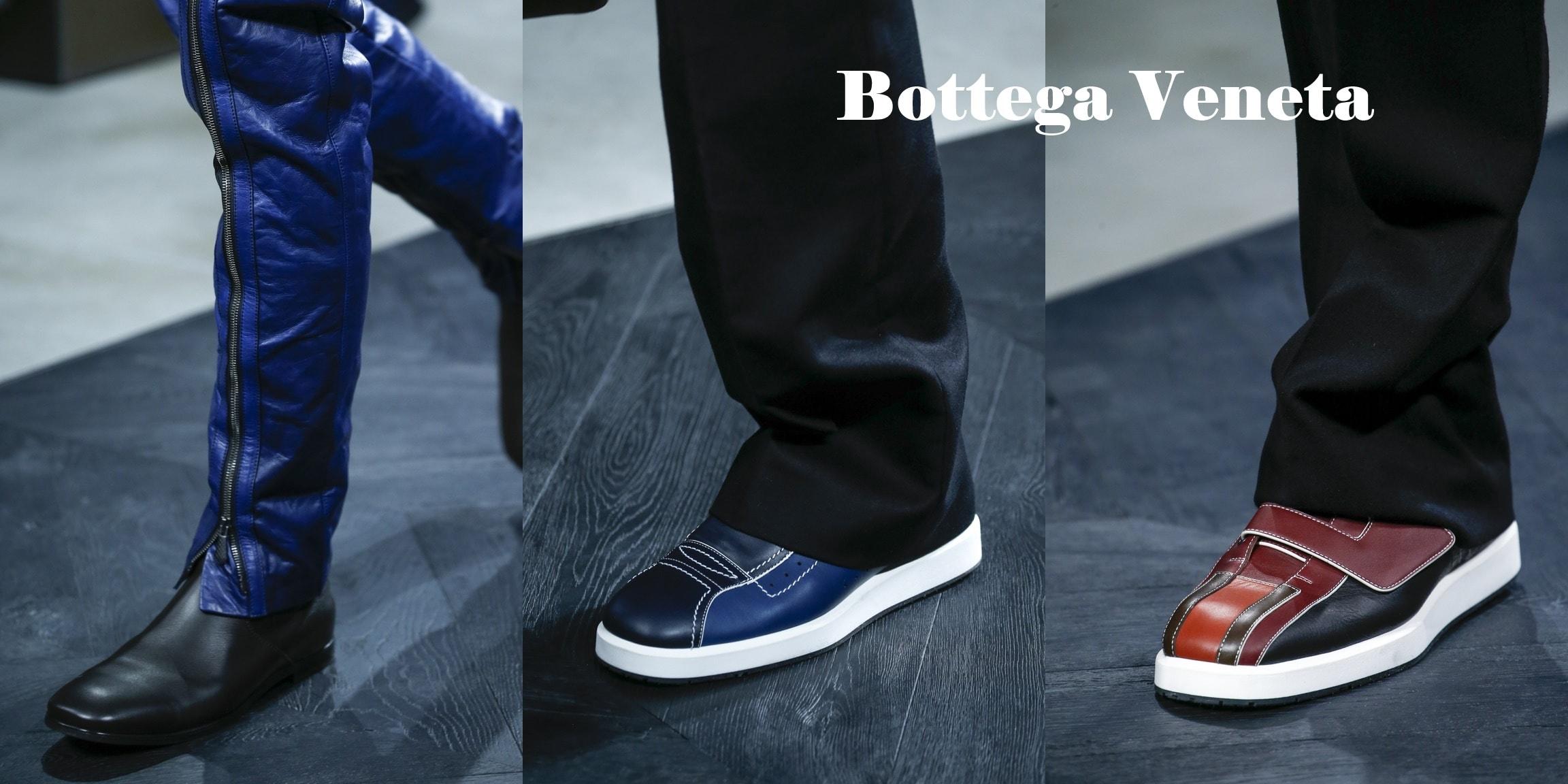 мужские туфли 2017 Bottega Veneta