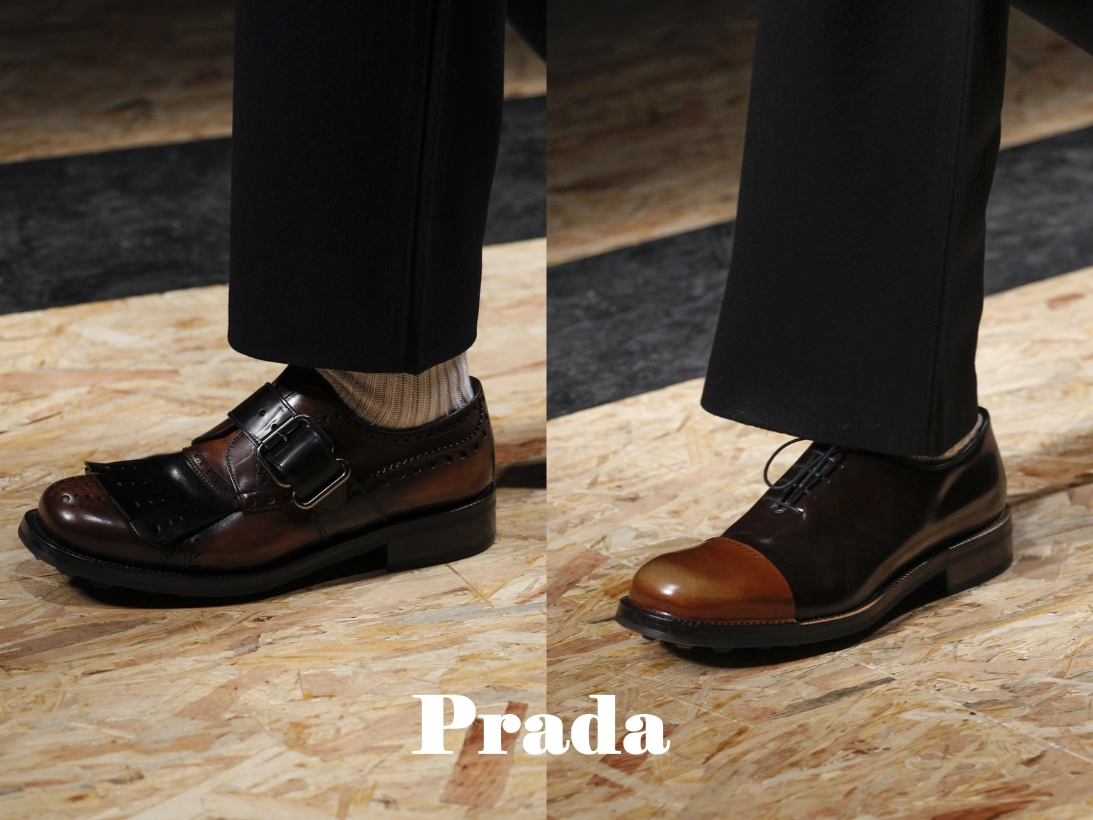 мужские туфли Prada