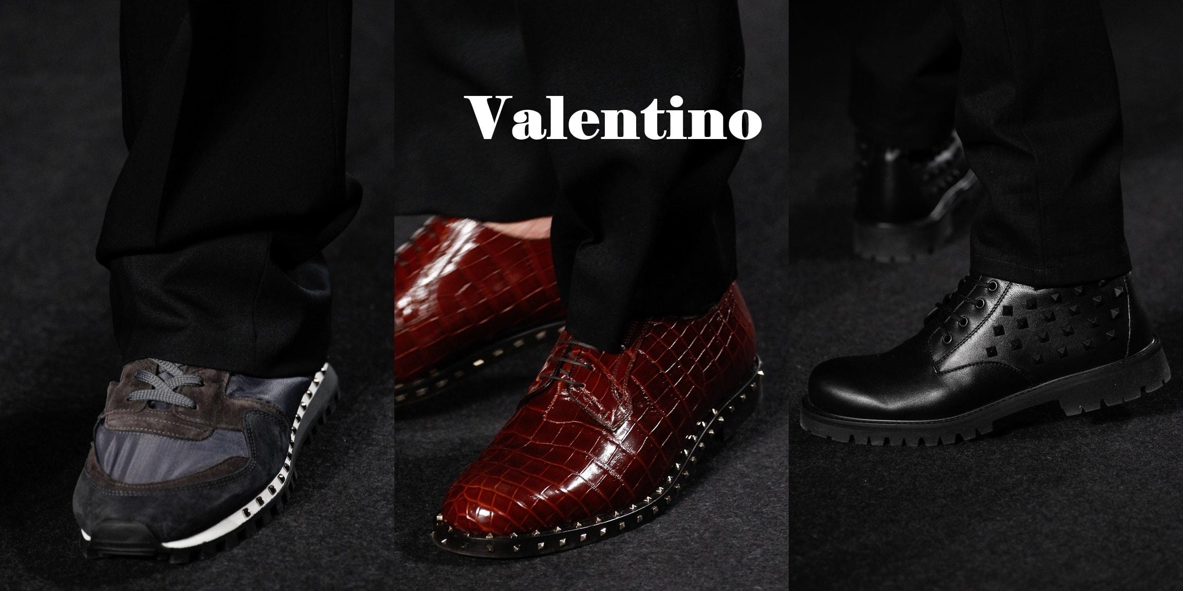 мужские туфли 2017 Valentino