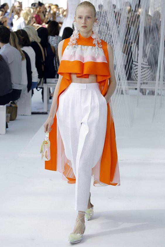 широкие белые брюки 2017